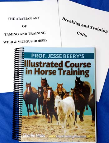 Prof. Jesse Beery Horse Training Books!