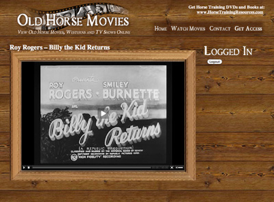 Old Horse Movies List - Horse Training Resources – Horse